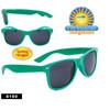 Wholesale Green California Classics Sunglasses - Style # 8180 (12 pcs.) Spring Hinge