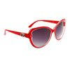 DE™ Cat Eye Fashion Sunglasses Style # DE147 Red