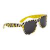Wholesale Zebra Print California Classics - Style # 8013 Yellow