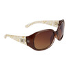 Women's Wholesale Designer Sunglasses - Style # DE5059 Tan