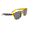 Plaid California Classics Sunglasses 8074 Yellow
