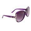 Large Lens Fashion Sunglasses DE5045 Purple