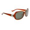 Women's Polarized Wholesale Sunglasses 8216 Brown