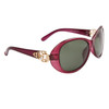 Wholesale Women's Polarized Fashion Sunglasses 8219 Purple