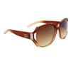 DE™ Fashion Wholesale Sunglasses DE5025 Brown/Beige
