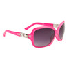 Diamond™ Eyewear Rhinestone Sunglasses Wholesale - Style # DI6005 Pink