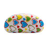 Sunglass Hard Cases Wholesale - AC4000 White w/Light Cream Interior