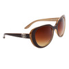 Wholesale Cat Eye Designer Sunglasses - DE5043 Brown/Beige