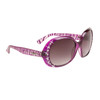 Wholesale Rhinestone Sunglasses Diamond™ Eyewear - Style #DI148 Purple