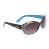 Designer Sunglasses by the Dozen - Style #DI149 Black & Blue