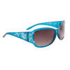 Bulk Fashion Sunglasses - Style #33715 Blue