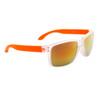 Unisex Wholesale Sunglasses - Style #867 Orange with Gold Revo