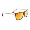 Mirrored Bulk Sunglasses - Style #857 Tortoise Orange-Gold Mirror