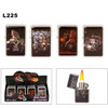 Lighters Wholesale ~ Lighter Fluid NOT Included L225 (12 pcs.) Assorted Motorcycle & Semi Truck with Sexy Ladies