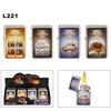 Lighters Wholesale ~ Lighter Fluid NOT Included L221 (12 pcs.) Assorted Las Vegas