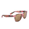 Pink Camouflage Classic Sunglasses - Style #6087 Amber Lens