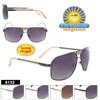 Square Aviator Sunglasses - Style #6132