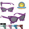 Cute Butterfly Sunglasses for Girls 661
