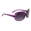 Wholesale Rhinestone Diamond™ Eyewear - DI521 Translucent Purple