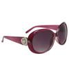 Diamond Eyewear Fashion Sunglasses for Women DI111 Transparent Maroon Frame Color
