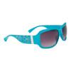 DE90 Women's Fashion Sunglasses Blue Frames