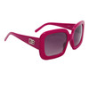 Designer Eyewear Fashion Sunglasses DE107 Magenta Frame Color