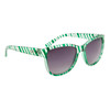 Wholesale Fashion DE™ Sunglasses - DE601 Green Striped