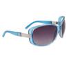 Wholesale Fashion Sunglasses 24016 Transparent Blue Frame Color
