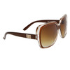 DE Designer Sunglasses DE578 Brown Frames