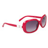 #22313 Fashion Sunglasses Magenta Frame Color