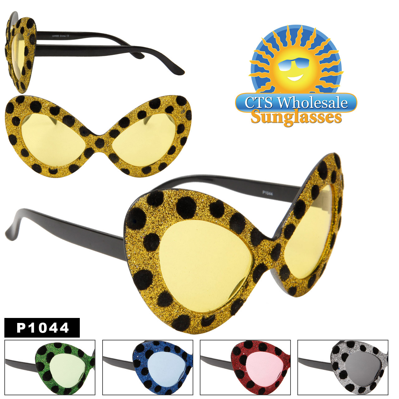 Retro Cat Eye Party Glasses