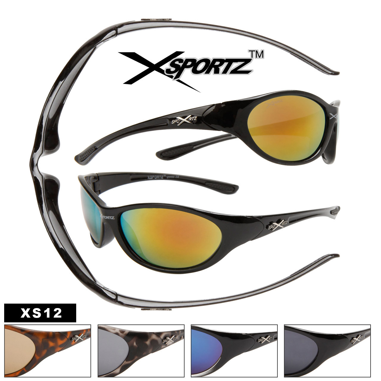Wholesale Xsportz Sunglasses XS12