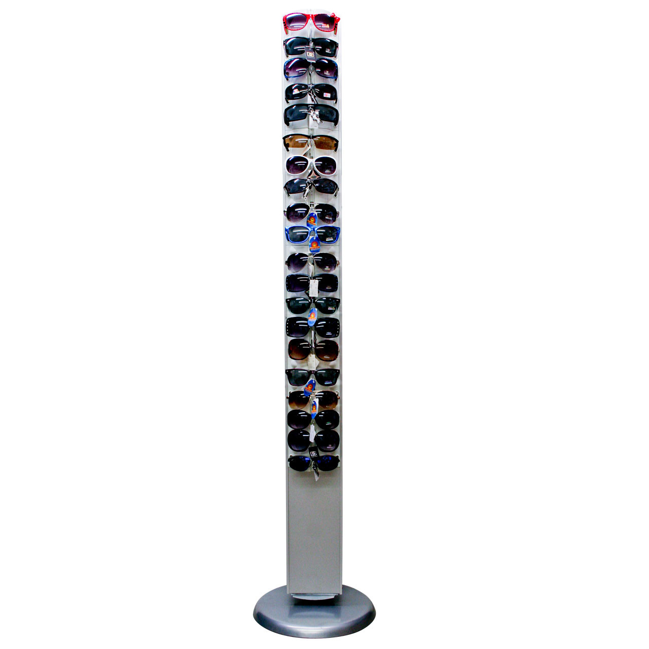 Wholesale Floor Model Rotating Sunglass Display (1 pc.) Holds 40 Pair