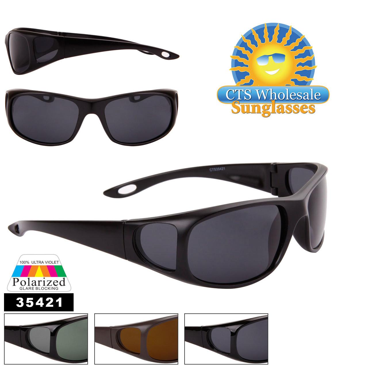 Polarized Sunglasses - Style #35421 (Assorted Colors) (12 pcs.)