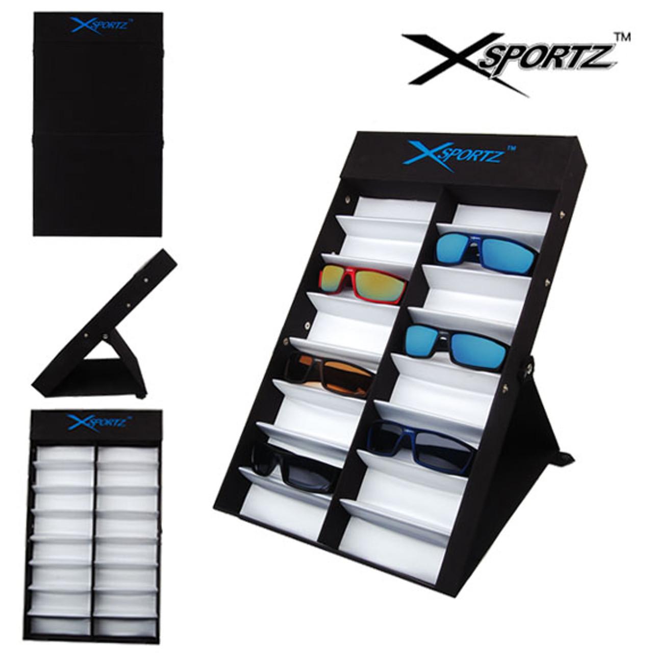 Xsportz Folding Sunglass Display