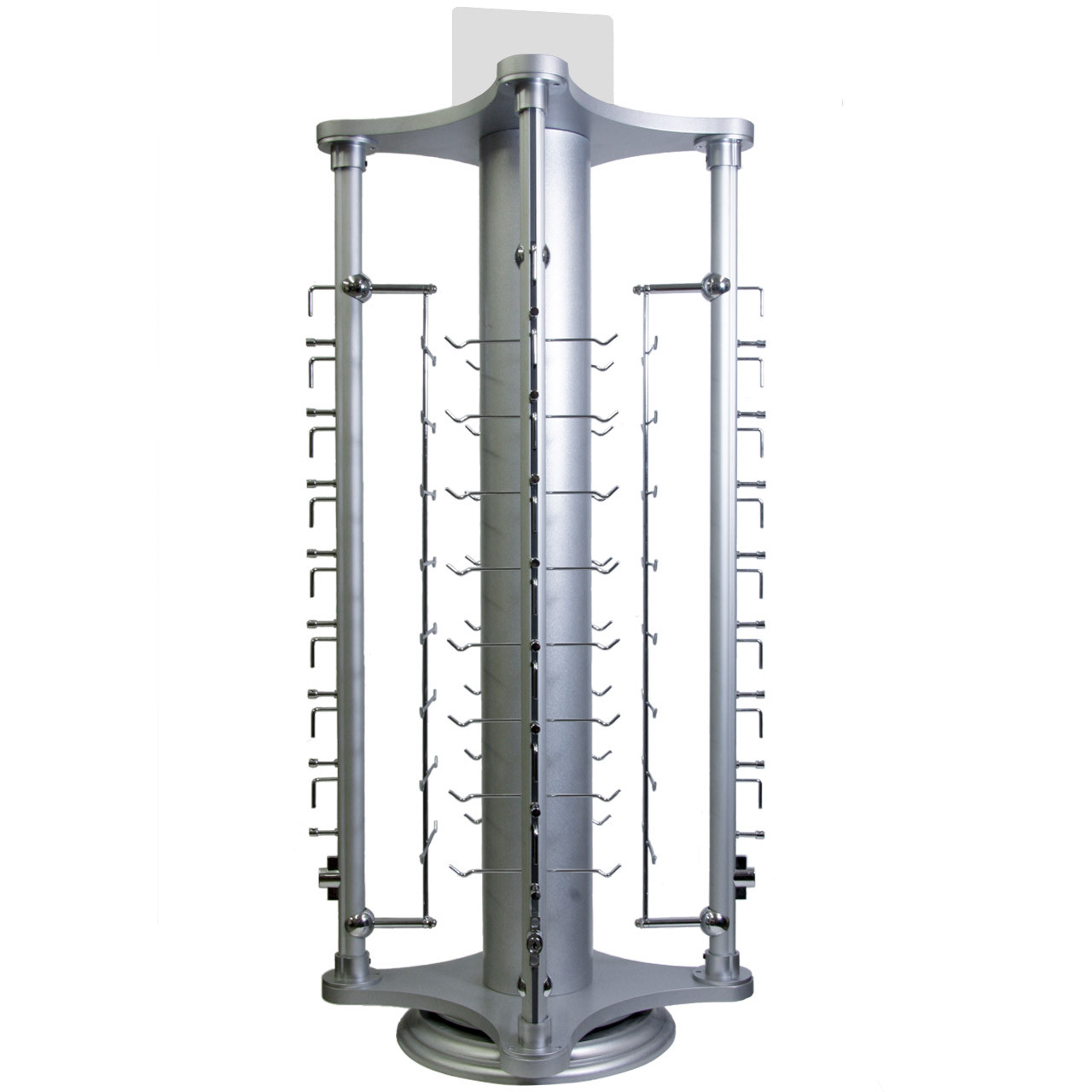 Locking Counter Top Rotating Sunglass Display Stand ~ Holds 32 Pairs 7067 (1 pc.)