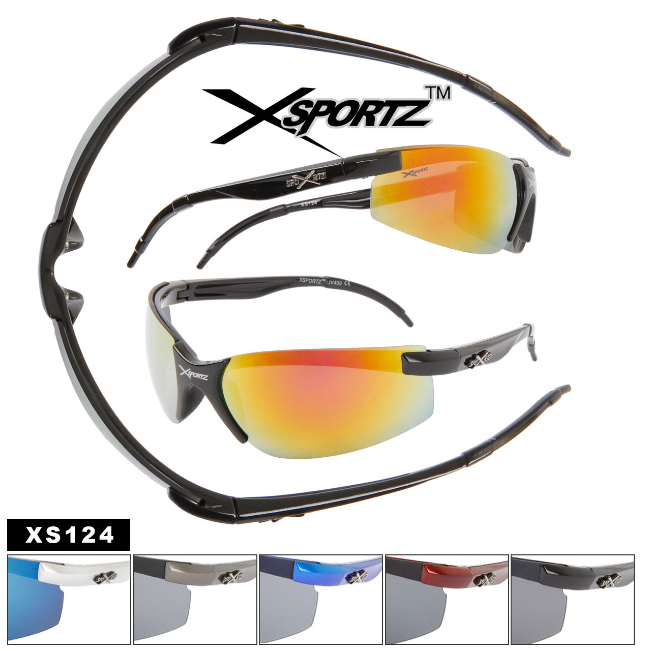 Wholesale Sport Sunglasses XS124
