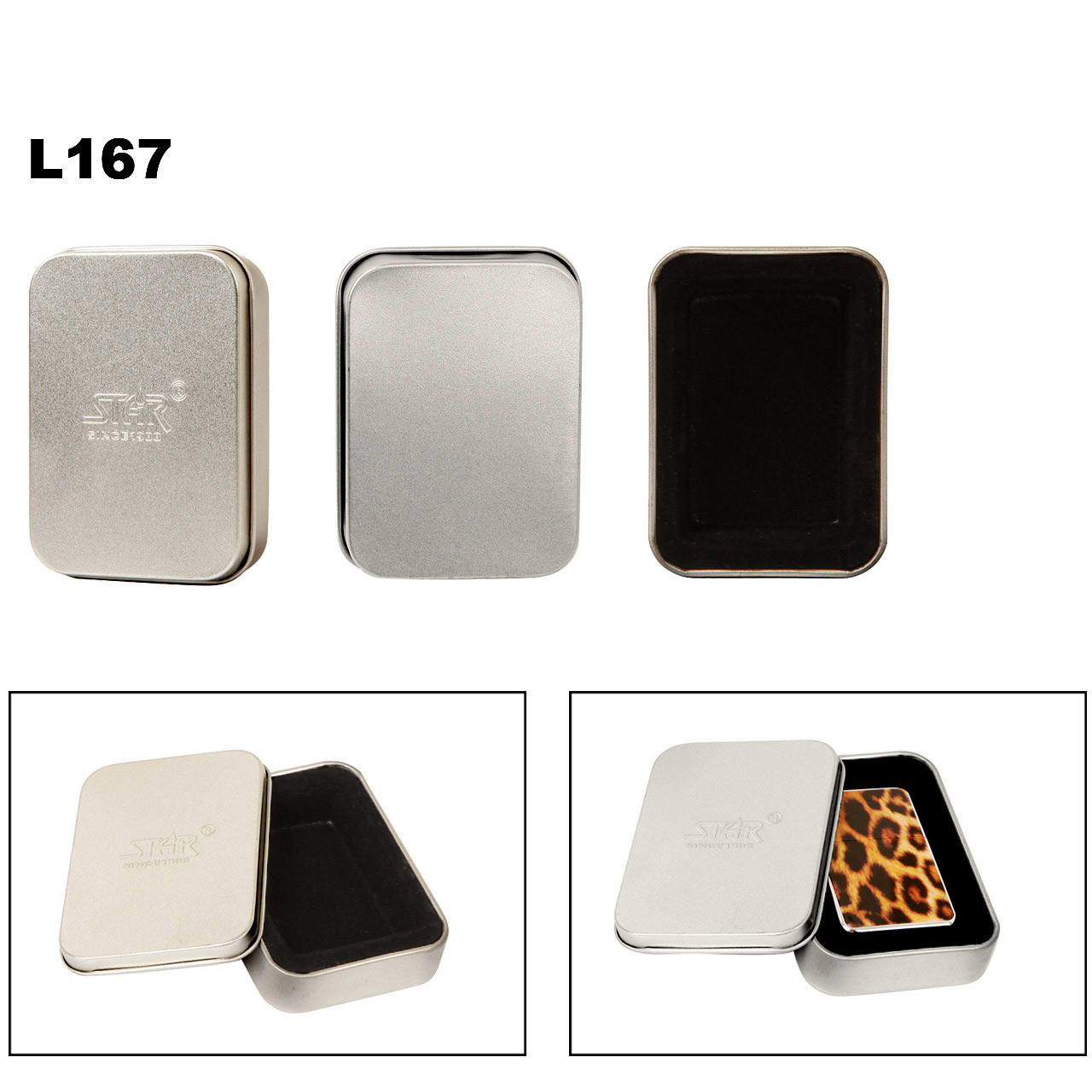 Lighter Tins L167