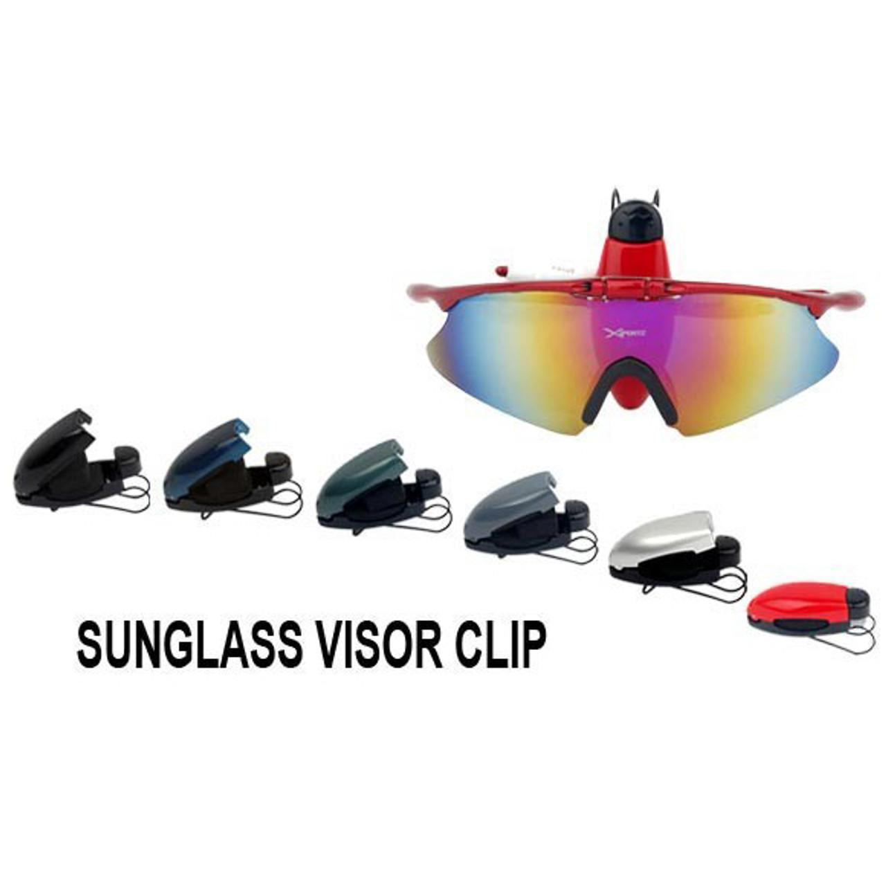 Visor Clips Wholesale 0059 (12 pcs.) Assorted Colors