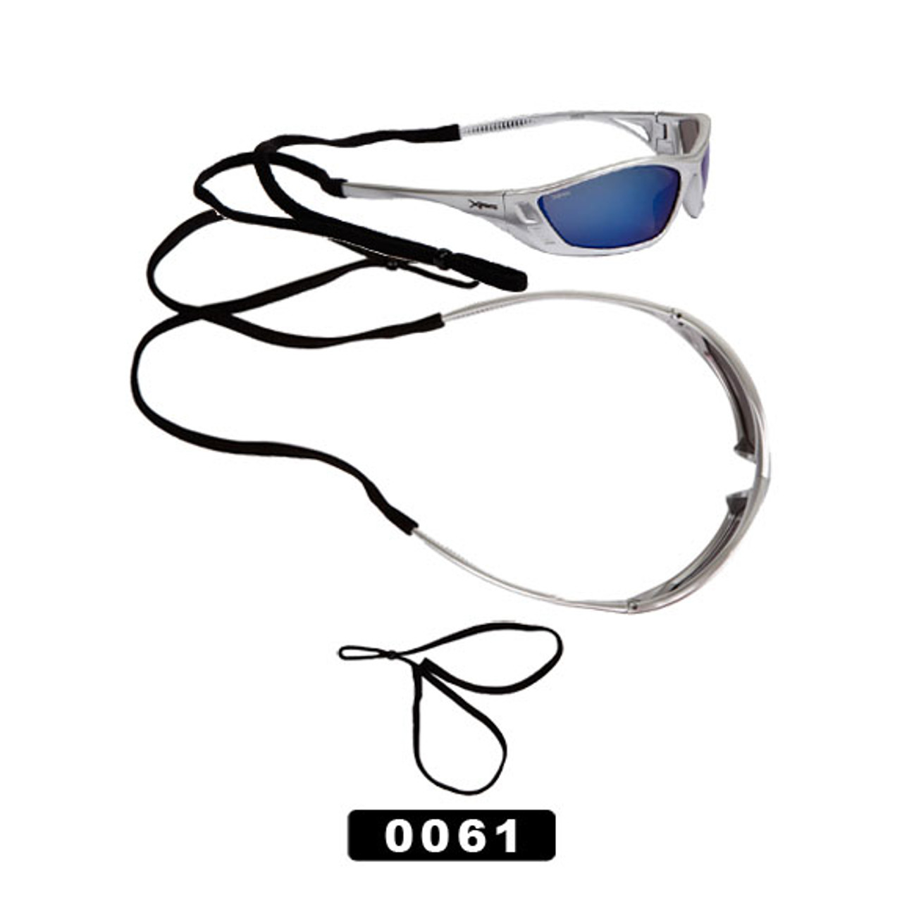 Adjustable Sunglass Straps ~ Fits smaller framed sunglasses. 0061 (12 pcs.)