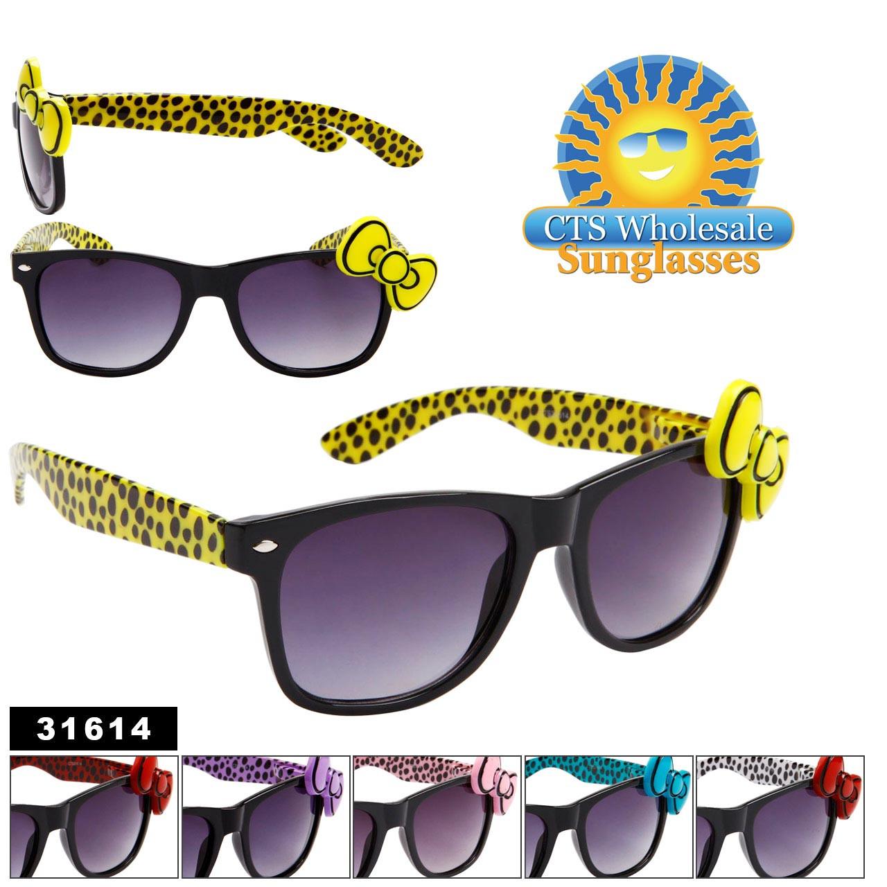 Bulk California Classics Sunglasses 31614 California Classics Bows! (Assorted Colors) (12 pcs.)