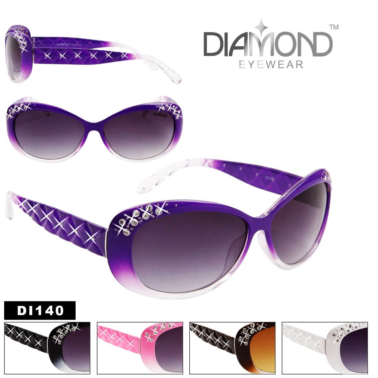 Diamond™ Eyewear Wholesale Sunglasses DI140
