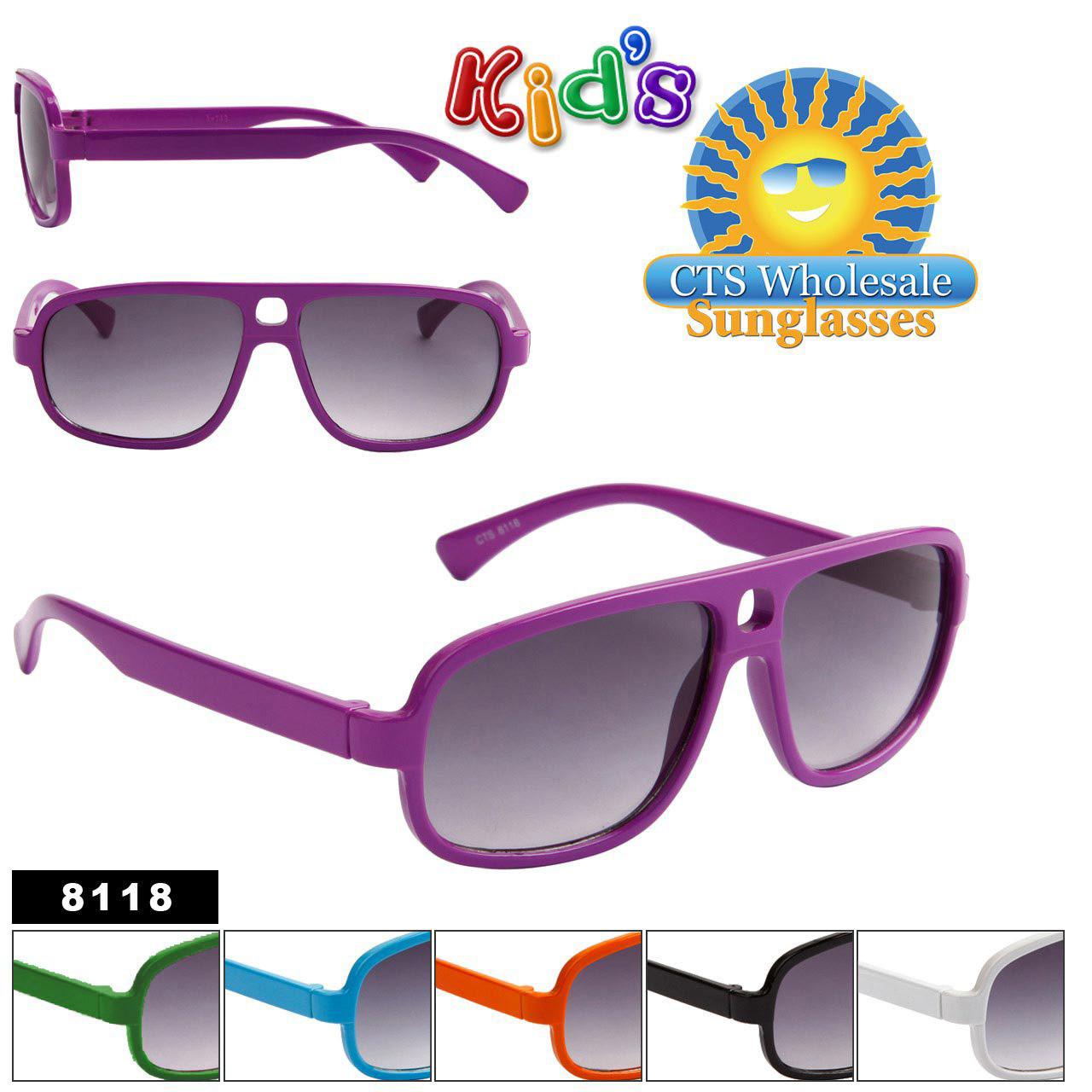 Wholesale Kid's Sunglasses 8118