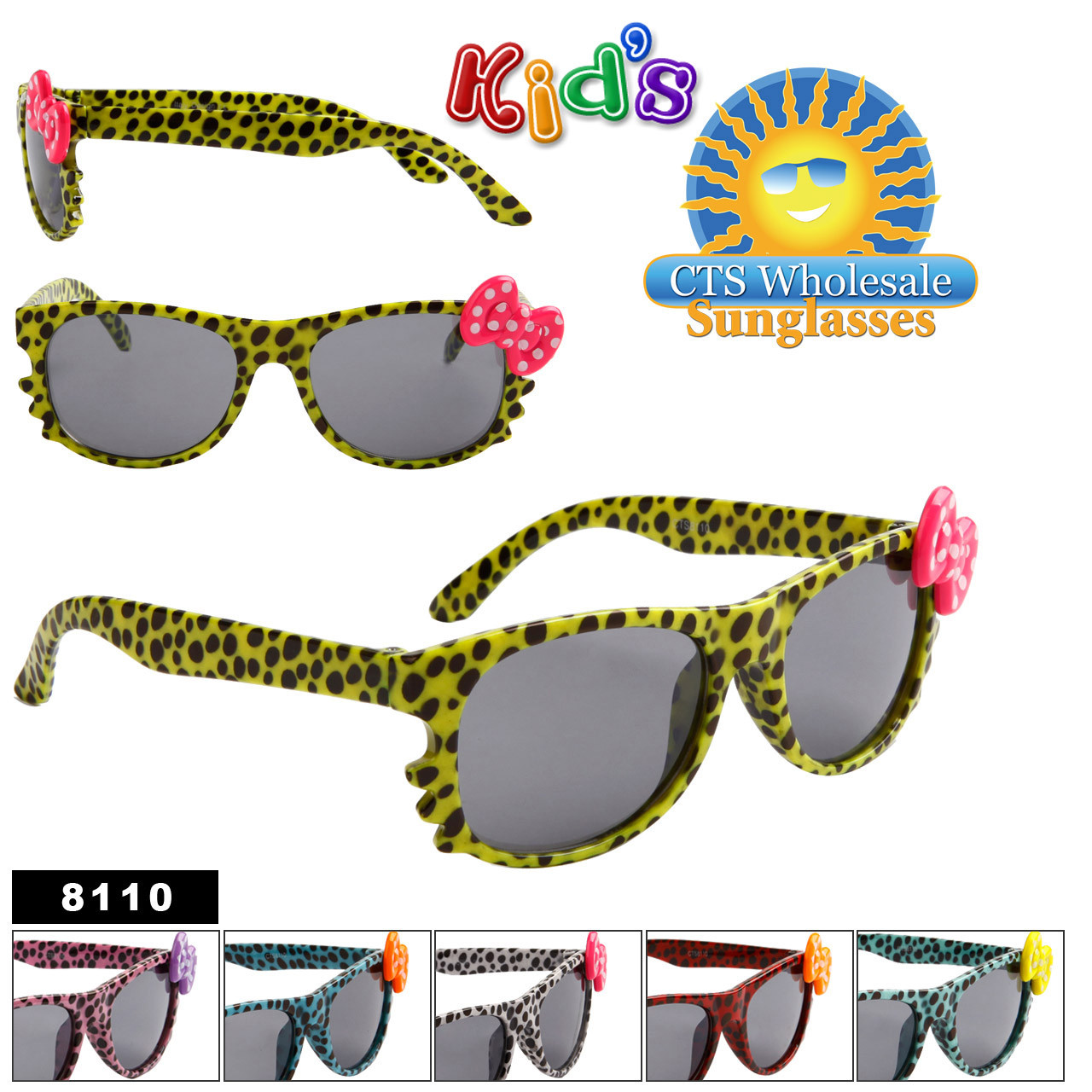 Sunglasses for Girl's 8110