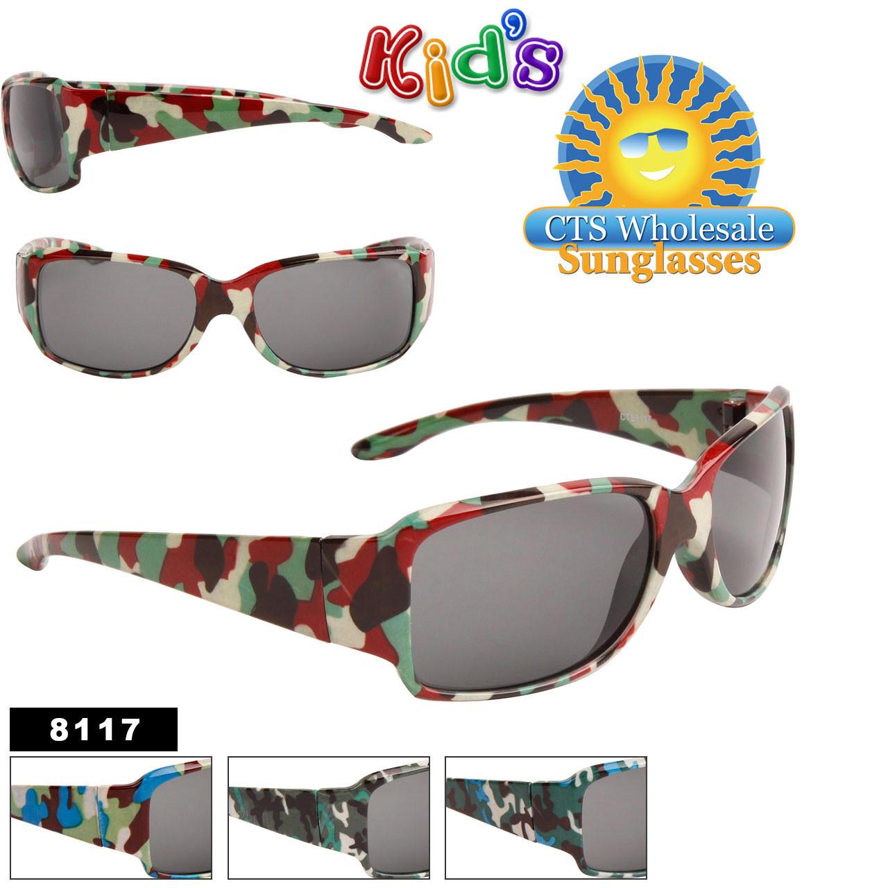 Kid's Camouflage Sunglasses 8117