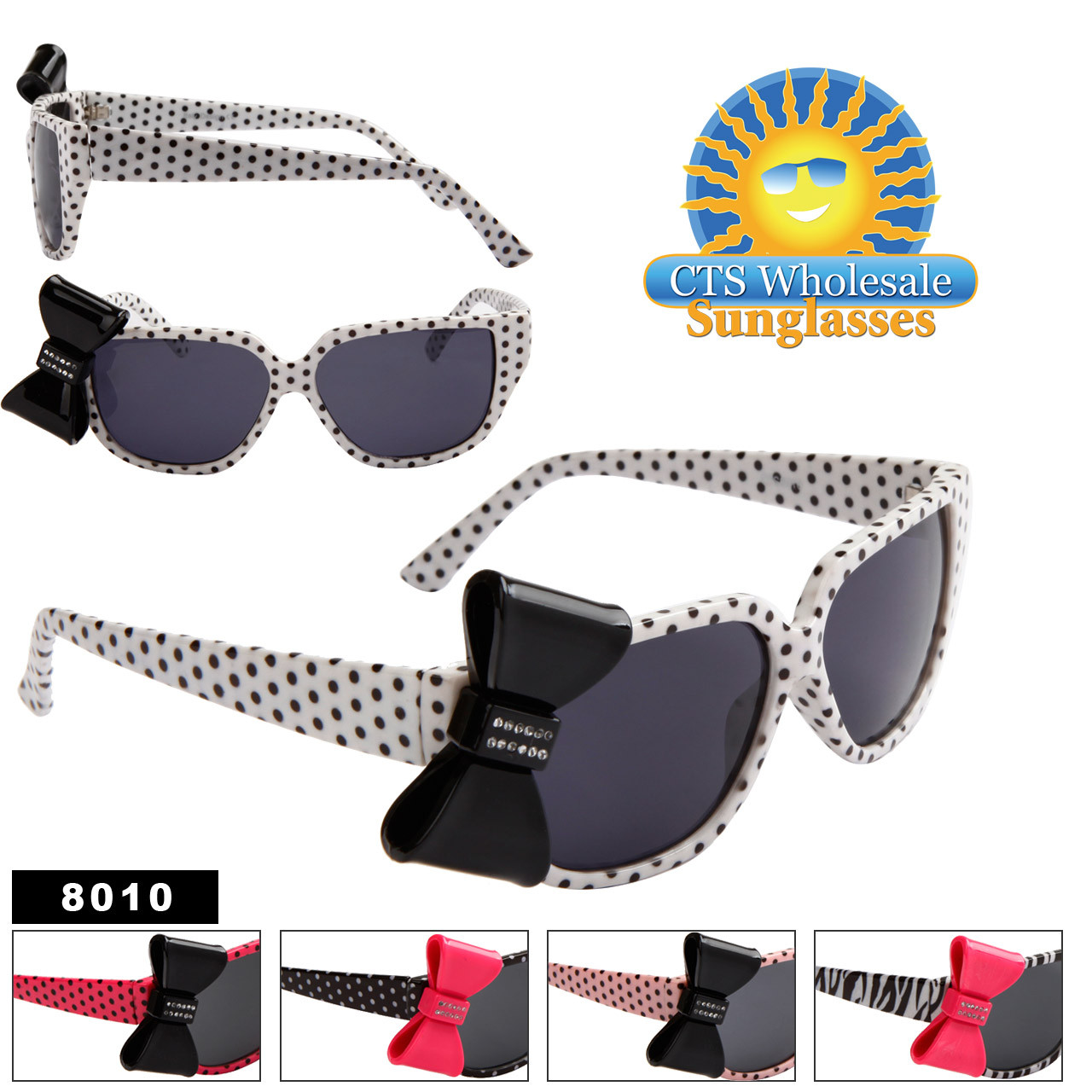 Polk-A-Dot California Classics Sunglasses 8010