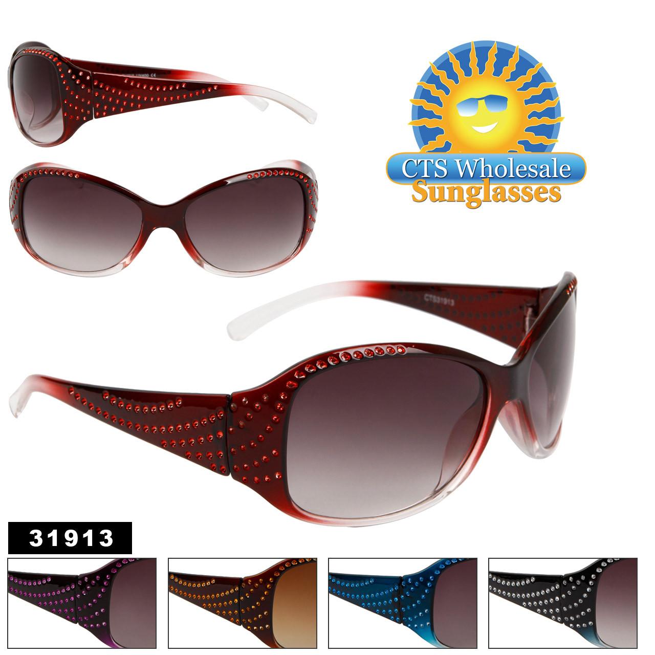 Women's Wholesale Fashion Sunglasses - Style # 31913