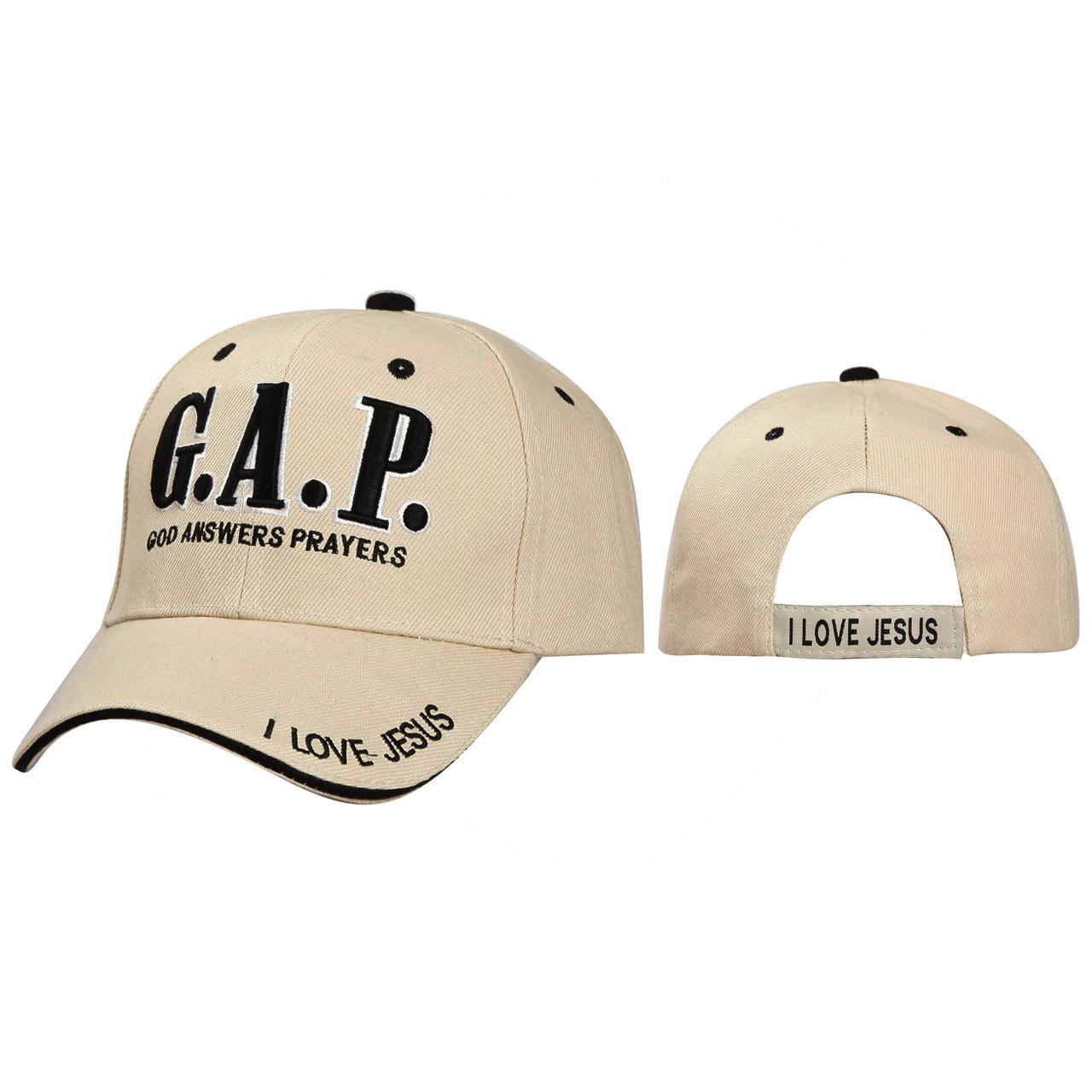 Wholesale Baseball Cap C114 (1 pc.) G.A.P. Christian Cap