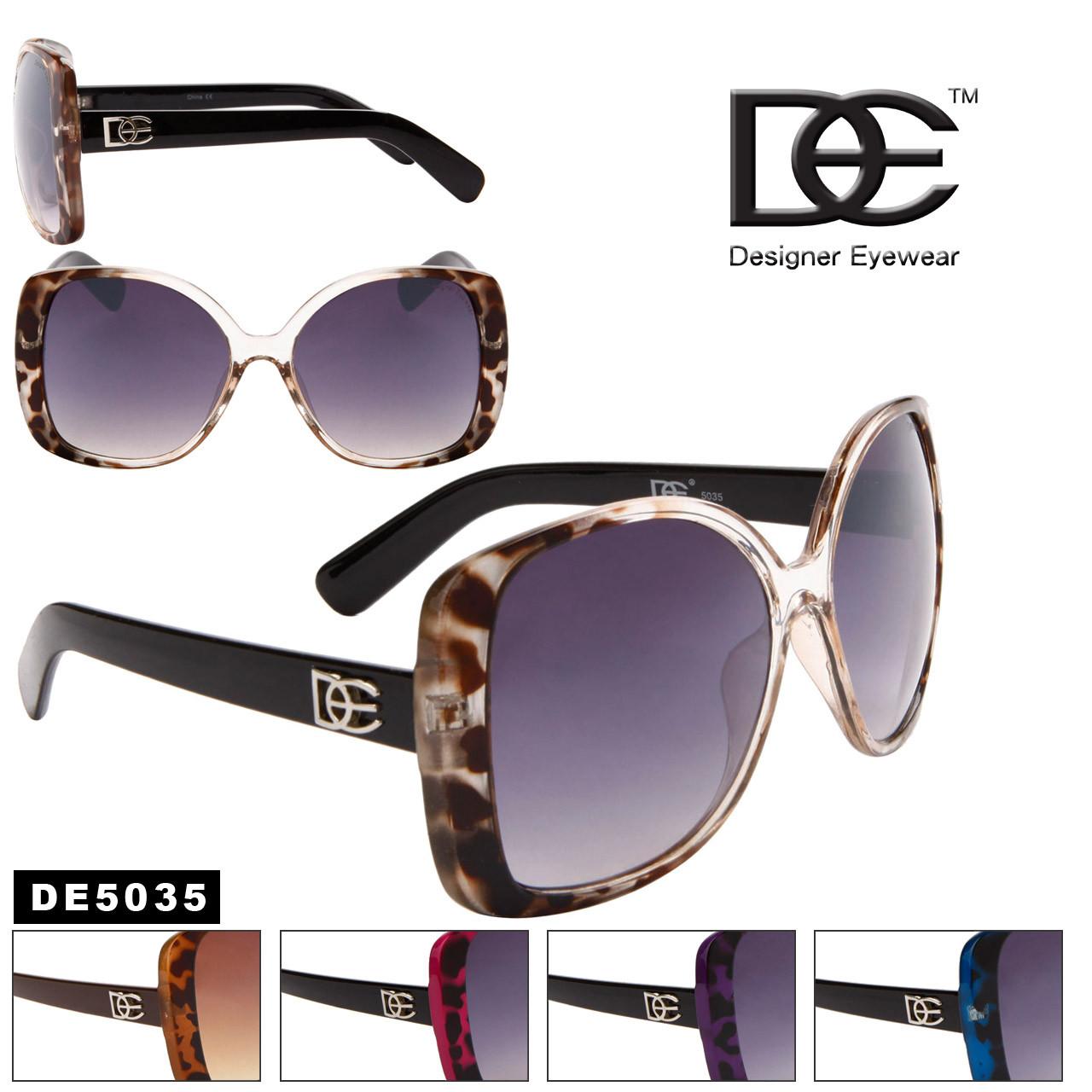 DE™ Wholesale Vintage Sunglasses - DE5035 (Assorted Colors) (12 pcs.)