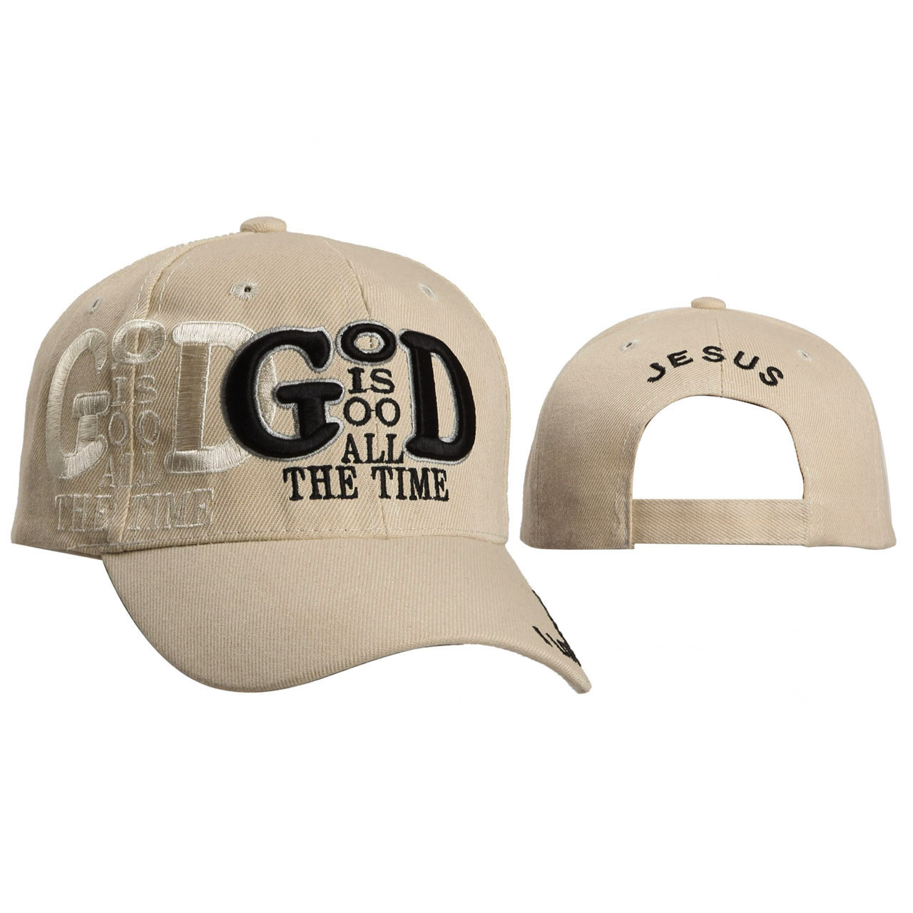 Wholesale Baseball Cap C106 (1 pc.) God Is Good All the time!
